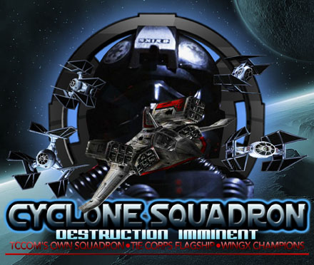 Cyclone Squadron banner